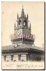 Postcard Old Avignon Tower Jacquemart