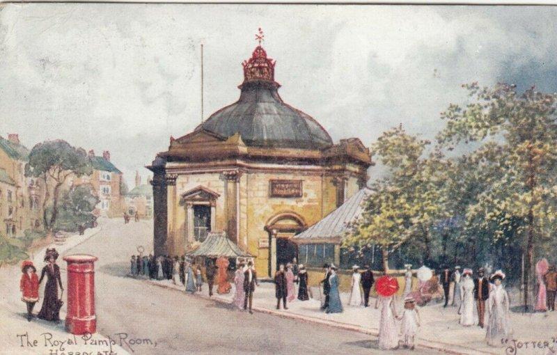 AS; JOTTER, 1910; HARROGATE, England, The Royal Pump Room