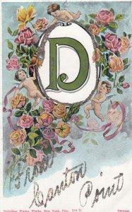 Alphabet D , 1909