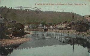 Franklin St. Bridge & Stonycreek River Johnstown, V & Sons  Publishing Co