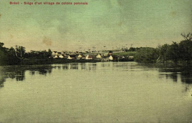 brazil, PARANA (?), Village of Polish Settlers (1910s)