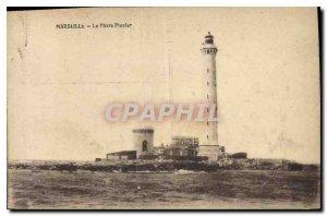 Old Postcard Marseille Lighthouse Planier