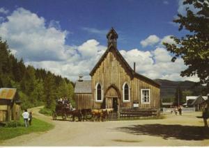 A Historic Restoration, Barkerville BC British Columbia Canada Postcard
