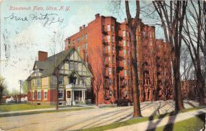 Utica New York~Kanatenah Flats~Beautiful House & Apartment Building~1908 Pc