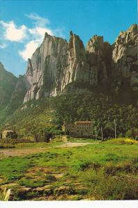 Montserrat View Of Sant Jeronimo
