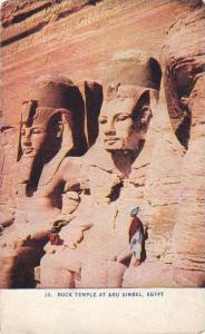 Rock Temple At Abu Simbel, Egypt, Africa, 1900-1910s