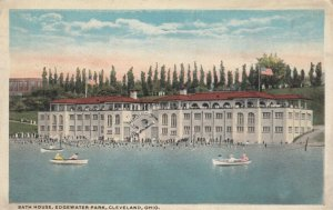 CLEVELAND, Ohio, PU-1917; Bath House, Edgewater Park