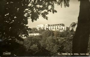 mexico, TAXCO, Gro., Hotel de la Borda (1950s) RPPC