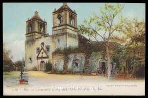 Mission Conception (Completed 1734)