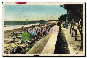 Old Postcard Chatelaillon La Plage