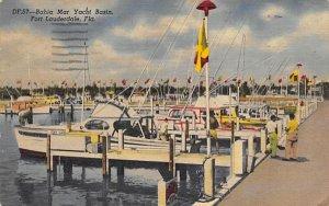 Bahia Mar Yacht Basin Fort Lauderdale, Florida Postcard
