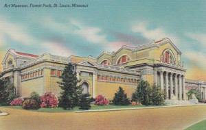 Missouri St Louis Art Museum In Forest Park
