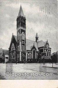 1st ME Church Canton, OH, USA 1907