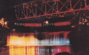 Annual Christmas Lighting, LOUDLOW FALLS, Ohio, 40-60´s