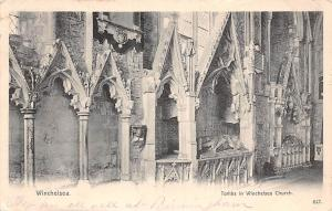 Winchelsea, Tombs in Winchelsea Church (East Sussex) 1904
