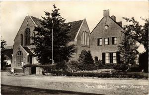 CPA JOURE Geref. Kerk met Pastorie NETHERLANDS (604624)
