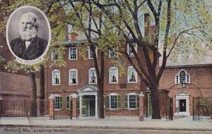 Longfellow Mansion Portland Maine 1910