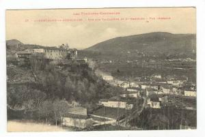 Aerial View of City & Countryside,St. Bertrand de Comminges,France 1900-10s
