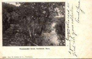 Massachusetts Northfield Wannamaker Brook