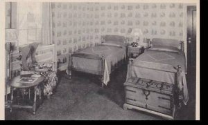 Michigan Dearborn The Dearborn Inn A Typical Maple Bedroom Albertype