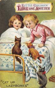 BB London~Get Up Lazy Bones~Little Children in Brass Bed~Kittens Jump Up~1910