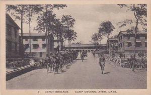 Massachusetts Ayer Camp Devens Depot Brigade