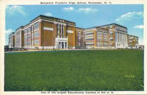 Benjamin Franklin High School - Rochester, New York - WB