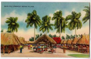 Musa Isle Seminole Indian Village Fl