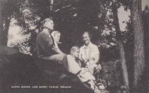 Vermont Fairlee Aloha Manor Lake Morey Artvue