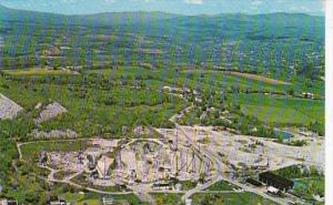 Vermont Barre The Wells-Lamson Granite Quarry Aerial View