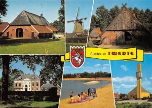 Netherlands Groeten uit Twente, Mill Muehle Cottage Promenade Beach Strand