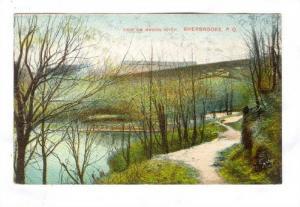 View on Magog River, Sherbrooke, Quebec, 00-10s