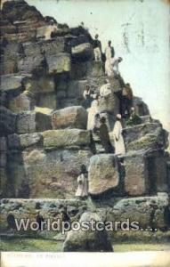 Eqypt Mounting the Pyramid  Mounting the Pyramid