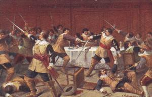 AS: Sword fight . Muskateers, Banquet, 00-10s
