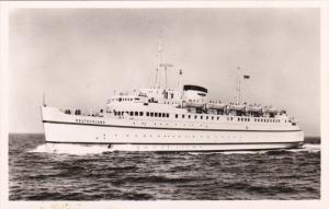 RP: Bundesbahn-Hochsee-Fahrschiff DEUTSCHLAND , 40-50s