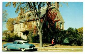 1956 New York State Historical Association, Ticonderoga, NY Postcard