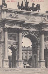 MILANO, Italy, 1900-10s; Arco della Pace