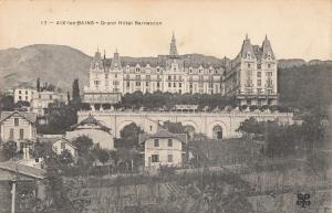 France Aix les Bains grand hotel Bernascon