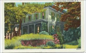 NY - Dansville. Clara Barton Home