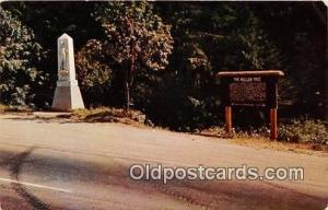 Fourth of July Canyon & Mullan Tree Mullan Road Patriotic Postcard Post Card ...
