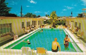 Swimming Pool Golden Villa Motel Clearwater Beach Florida