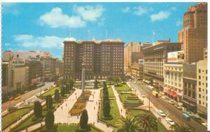 St. Francis Hotel, Union Square, San Francisco, unused Postcard
