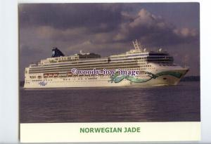 LN0919 - Norwegian Liner - Norwegian Jade , built 2006 - postcard