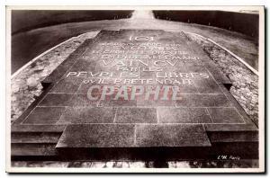 Postcard Old Forest of Compiegne Armistice Glade