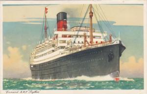 Cunard, R. M. S. Soythia, 10-20s