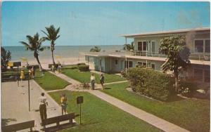 REDINGTON BEACH - ST PETERSBURG / EL SABALO MOTEL 1950s view - 16920 Gulf Blvd