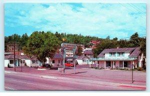 Twilite Gaslite Motel 2010 E Santa Fe Flagstaff AZ Route 66 Vintage Postcard E47