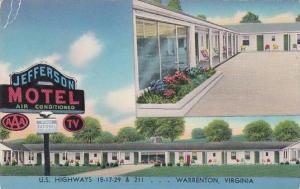 Virginia Warrenton Jefferson Motel