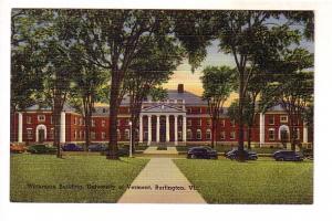 Unterman Building, University of Vermomt, Burlington, Vermont,