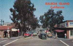 BALBOA ISLAND , California , 50-60s ; North on Marine Drive